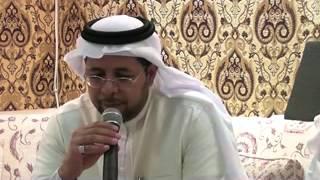 تجربة احمد المغلوث الصحفية  في خيمة ابن المقرب العيوني رمضان 1434 هجرية