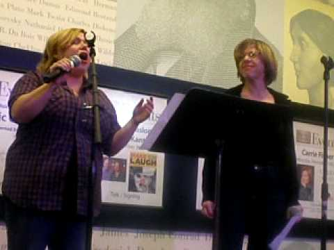 Carly Jibson and Jackie Hoffman singing At Seventeen