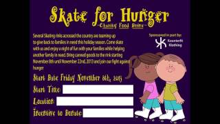 Skate For Hunger Facts SkateFM promo