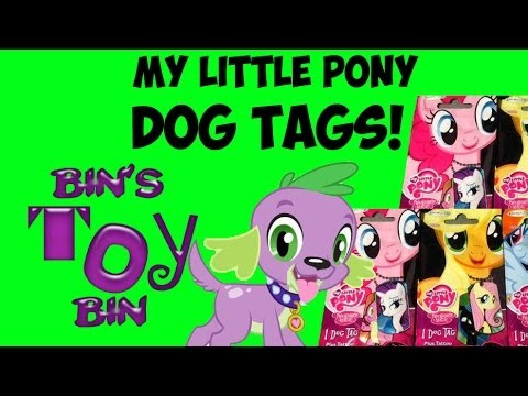 My Little Pony Dog Tags Blind Bags From Enterplay Opening