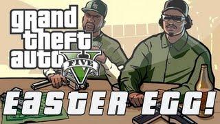 Grand Theft Auto 5 CJ & Grove Street Gang Easter Egg (GTA V)