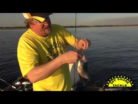 Crappie Fishing with Off Shore Tackle's OR-34 Mini Planer Board and Crankbaits
