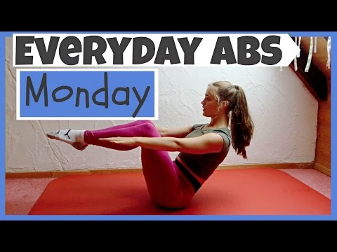 Everyday Abs Series - Monday   [3.5 Min Ab Workout]