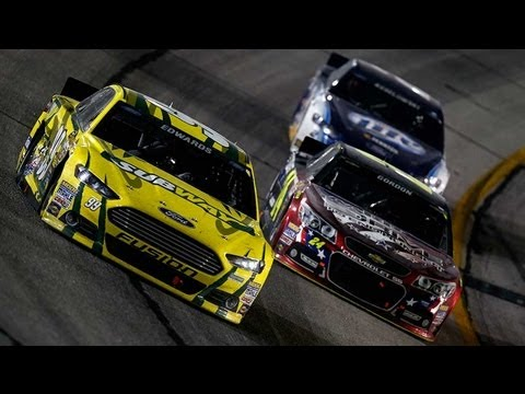 NASCAR in-car camera: things get heated between Jeff Gordon and Carl Edwards