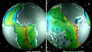 Growing Earth & continental drift (Alfred Wegener) view on youtube.com tube online.
