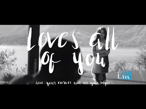 John Legend - All of Me | Lyrics and Chords | Hand Lettering