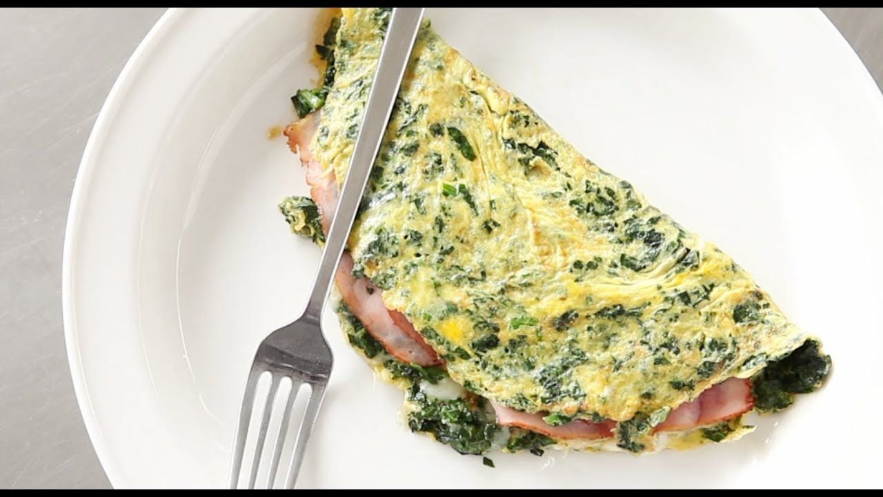 Green Eggs and Ham Omelet | Everyday Food with Sarah Carey - YouTube