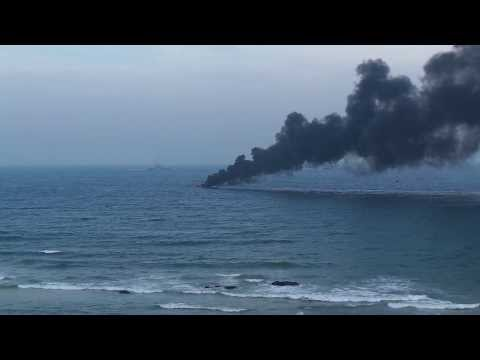 oil tanker blast in bay of Bengal Navy day 2013