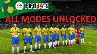 How To UNLOCK FIFA 14 ALL MODES IOS 8 And Below (NON