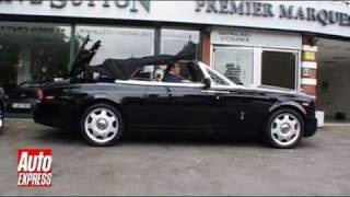Rolls-Royce Drophead Coupe. Auto Express.