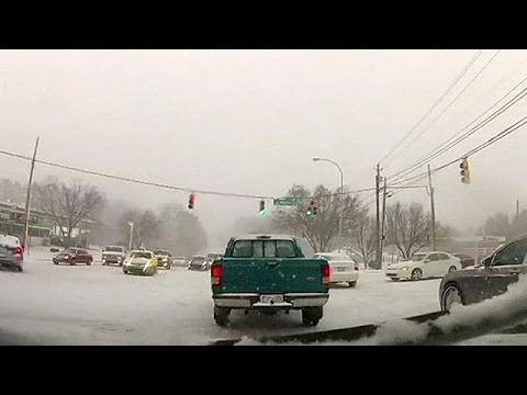 Deadly snow and ice storms hits US