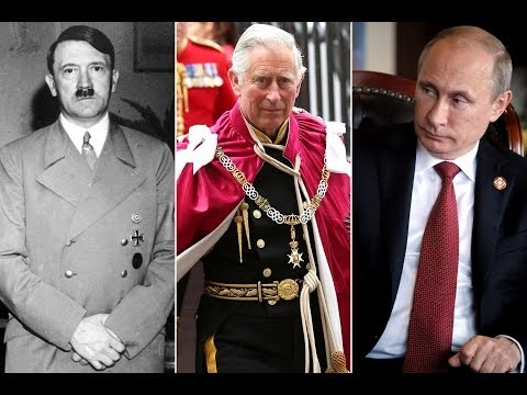 "Ukraine Crisis: Putin called ""Hitler"" by Prince Charles"