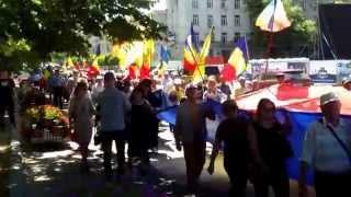 Marș de comemorare la Chișinău – 28 iunie-zi de doliu