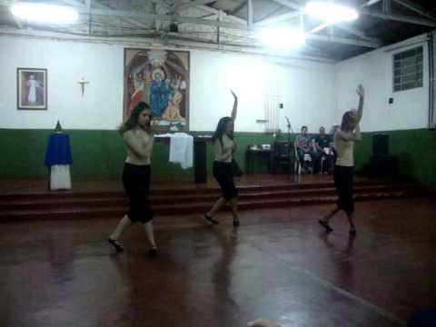 Ministério de Dança Kairós: Coreografia Santa Cruz - Banda Arkanjos