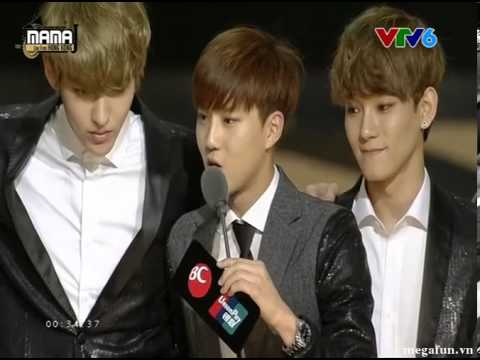 EXO nhận giải Album của năm tại MAMA 2013