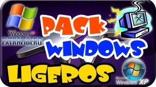 Excelentes Windows XP Lite Ligeros, Para Tu PC De Bajos