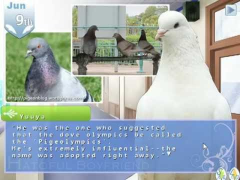 Hatoful Boyfriend - Sakuya 1