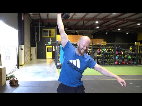 The Morning Wake Up push on with the CrossFit Open 21.2 workout