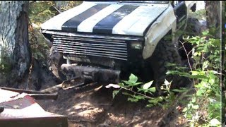 CHEVY BLAZER OFF-ROAD GONE BAD RESCUE By BSF Recovery Team