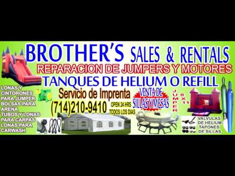 Brothers Party Rental and Taquizas en Orange county Catering