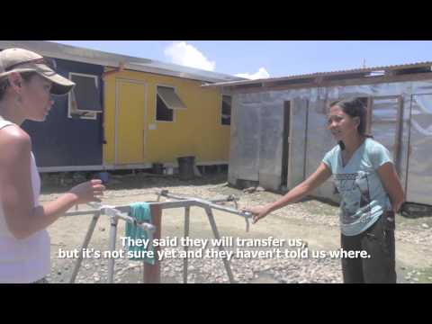 Living conditions of Taclobanons 6 months after Haiyan