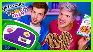 GIRL SCOUT COOKIE - EASY BAKE OVEN!