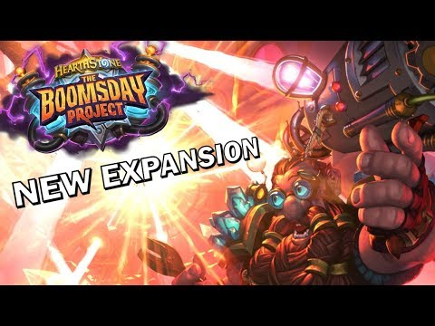 Hearthstone - The Boomsday Project Expansion Gameplay
