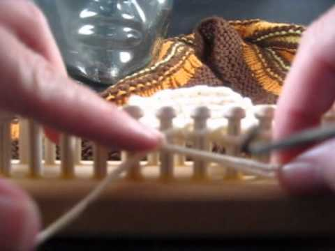 Loom Knitting Loose Cast Off Stitch - YouTube