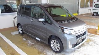 2012 New DAIHATSU MOVE/MOVE CUSTOM - Exterior & Interior