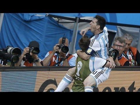 Gol de Messi a IRAN musicalizado por Maxi Pardo - Argentina 1 Iran 0
