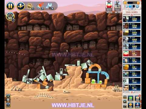 Angry Birds Star Wars Tournament Level 4 Week 31 (tournament 4) facebook