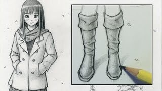 how to draw feet shoes front view male vea mas videos de. Black Bedroom Furniture Sets. Home Design Ideas