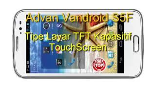 Advan Vandroid S5F Hp Tablet QuadCore Kamera 13 MP Harga