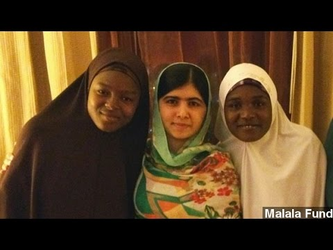 Malala Hopes To Bring New Focus To Nigeria's Missing Girls