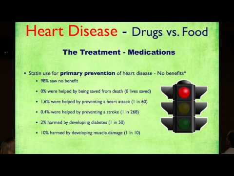 Heart Health - Statins vs Plant-Based Nutrition