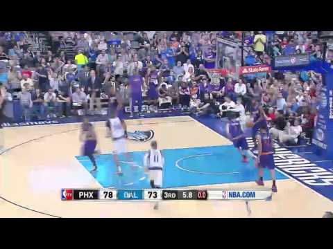 Phoenix Suns vs Dallas Mavericks | April 12, 2014 | NBA 2013-14 Season