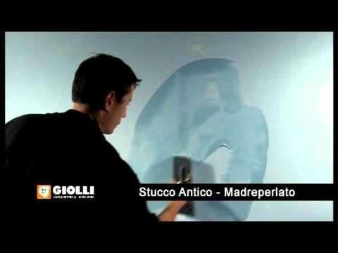 Giolli - stucco antico madreperlato - perłowe wykończenie do stiuku - tynk
