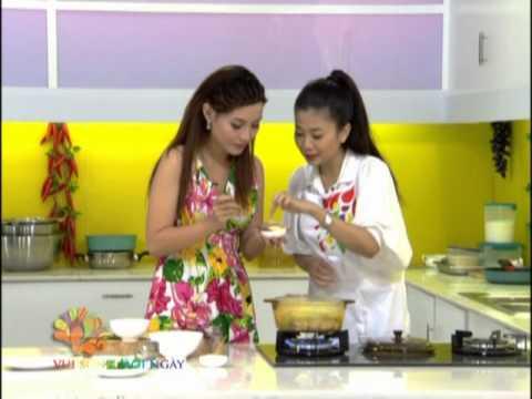 Mai Phương nấu món canh gà khổ qua - Vui Sống Mỗi Ngày [VTV3 - 04.09.2012]