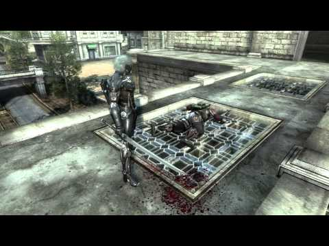 METAL GEAR RISING REVENGEANCE - GC 2012 TRAILER -OaU3uw4pbHg