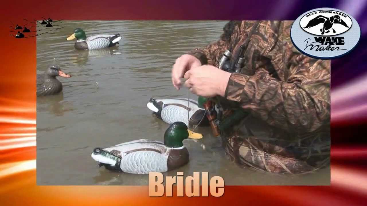 Duck Commander Wake Maker Automated Motorized Decoy System - YouTube