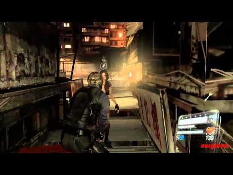 Resident evil 6 Infierno Campaña Leon Capitulo 4 Rango S
