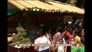 Festa do Caf� com Biscoito distribui guloseimas em S�o Tiago