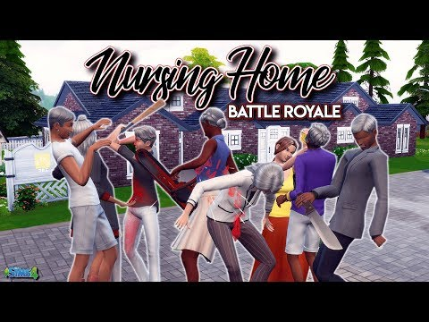 The PLOT Thickens: Nursing Home Battle Royale | The Sims 4