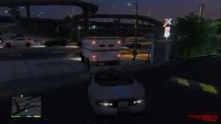 Grand Theft Auto VAsaltando Un Camión Blindado-