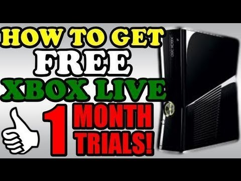 how to get a free xbox live account