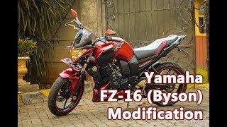 2012 Yamaha Byson (FZ-16) Modification