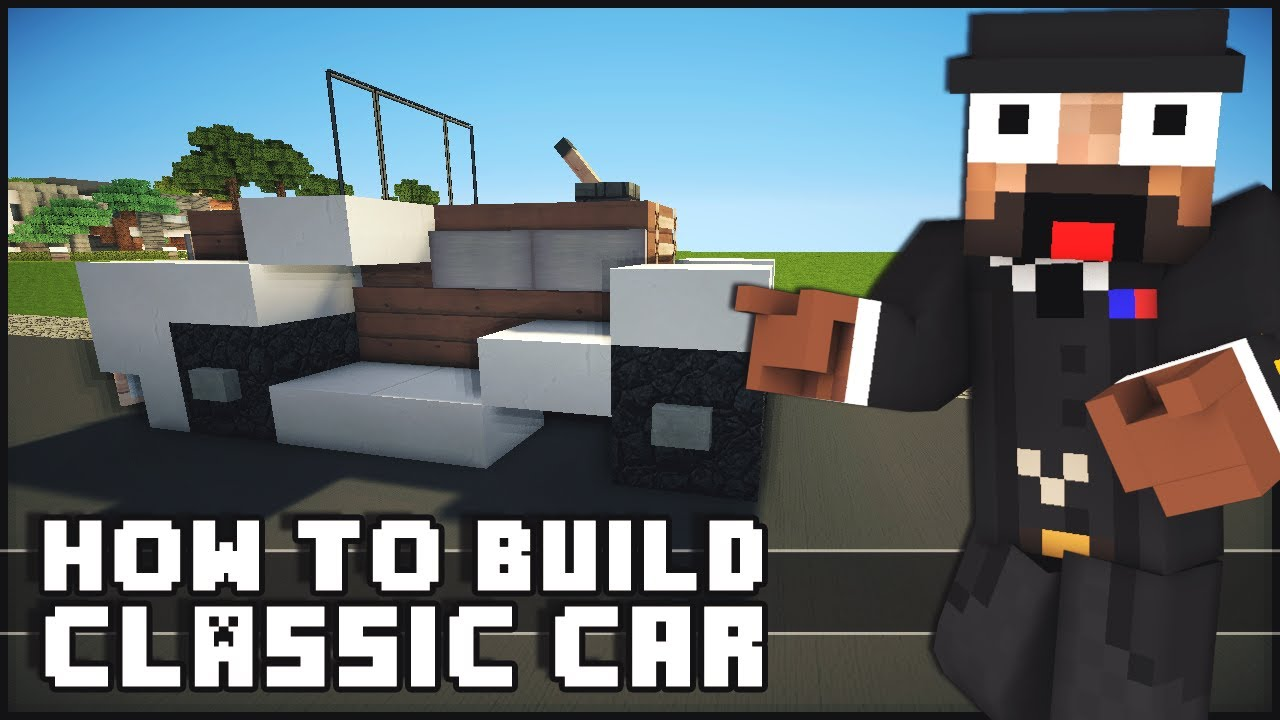 how to make a car with redsto e in minecraft