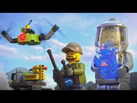 Lego City - Tajomstvo lávy
