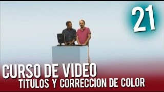 Video: Correción de colores