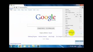 How To Set A Homepage In Google Chrome 10.1